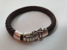 Buddha to Buddha Ben Leather Black leren armband   Excl. Hoes & Factuur