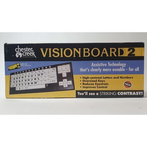 Chester Creek VisionBoard2 Yellow Slechtzienden Toetsenboord | Nieuw