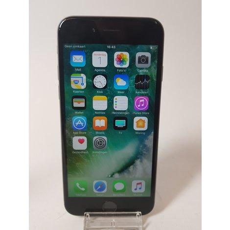 iPhone 6 32GB Space Gray   Incl. lader en garantie