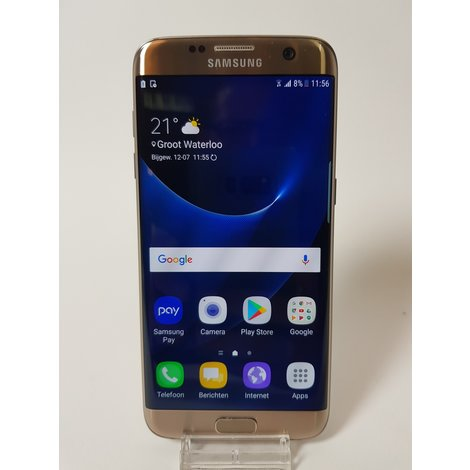 Samsung Galaxy S7 Edge 32GB Gold/Goud | In nette staat