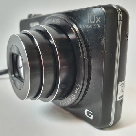 Sony Cyber-Shot DSC-WX220 WiFi NFC Zwart/Black | Nette Staat