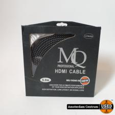 MQ MQ-1HDMI-500F II 5 METER HDMI KABEL | Nieuw