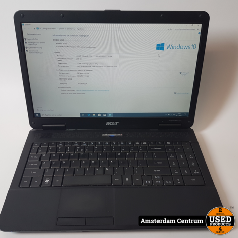 Acer Aspire 5334 Laptop | Celeron 2GB 250GB HDD | Incl. garantie