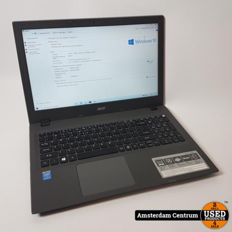 Acer Aspire E15 E5-573-311M i3-5005 1TB HDD 4GB RAM | Incl. lader