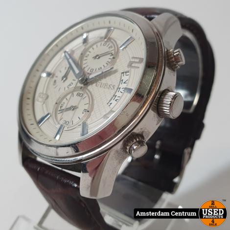 Guess W0076G2 Horloge | incl. Garantie en Doos