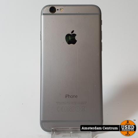 iPhone 6 128GB Space Gray   Incl.garantie