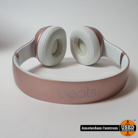 Beats Solo2 Wireless On Ear Headphone Rose Gold | Nette Staat in Doos
