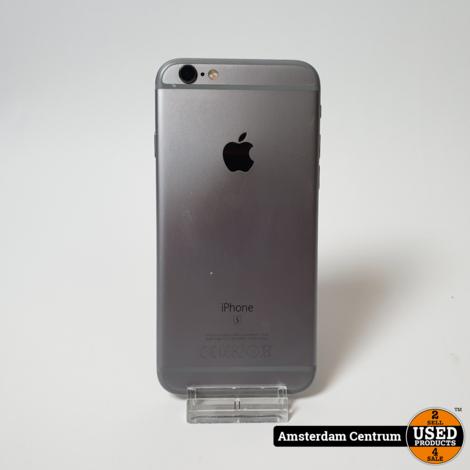 iPhone 6s 32GB Space Gray   Incl. lader en garantie