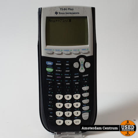 Texas Instruments TI-84 Plus Grafische Rekenmachine | Incl. garantie