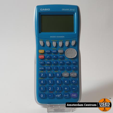 Casio grafische rekenmachine Graph 25+E | Nette Staat