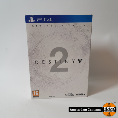 Playstation 4 Game: Destiny 2 - Limited Edition BOX   Nette Staat