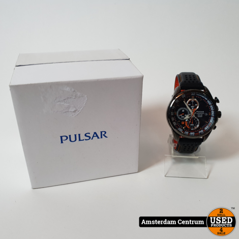 PULSAR PZ6009X1 HEREN CHRONOGRAAF SOLAR HORLOGE | ZGAN
