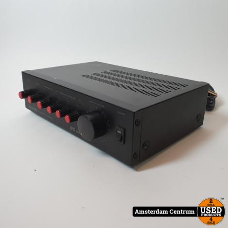 Mc Crypt PA-versterker 35 Watt Zwart/Black   incl. Garantie