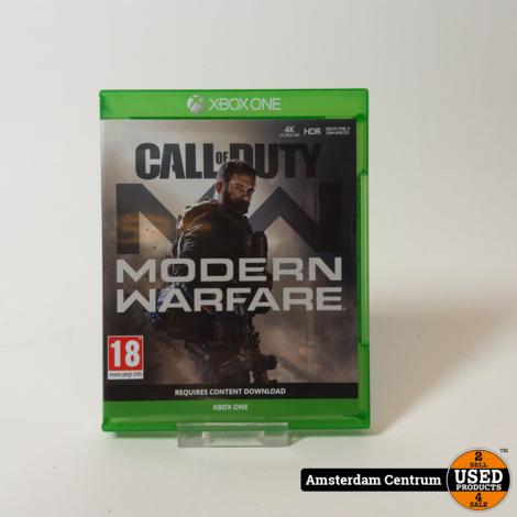 XBOX One Game: Call of Duty Modern Warfare