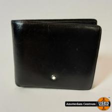 Montblanc Meisterstuck wallet 6cc black/zwart | In nette staat