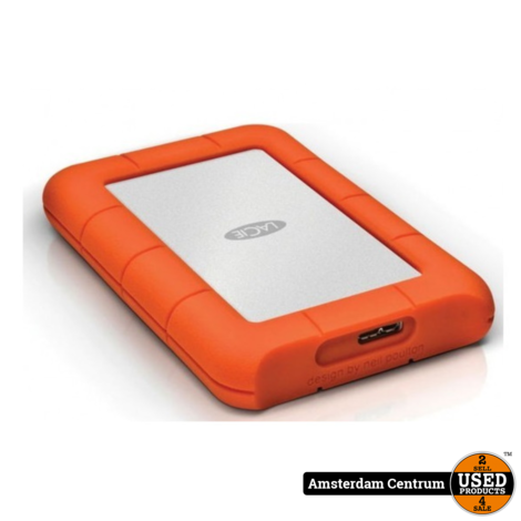 LACie Rugged Mini 1TB USB 3.0 externe harde schijf | Nieuw in Seal