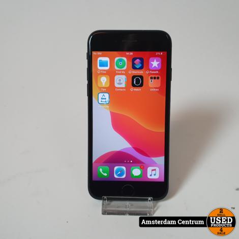 iPhone 7 128GB Zwart/Black   Incl. lader