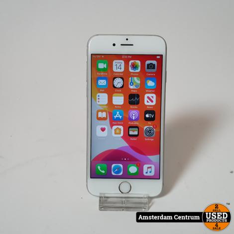 iPhone 6s 32GB Silver   incl. Lader en Garantie