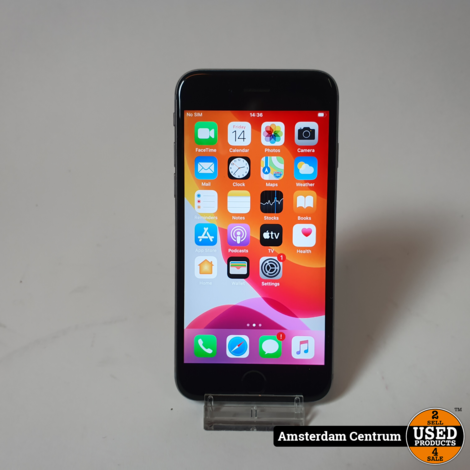 iPhone 6s 16GB Space Gray   Incl. lader