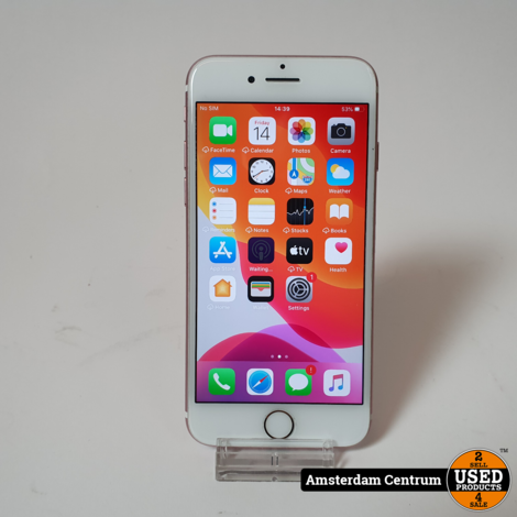 iPhone 7 32GB Rose Gold | Incl. lader