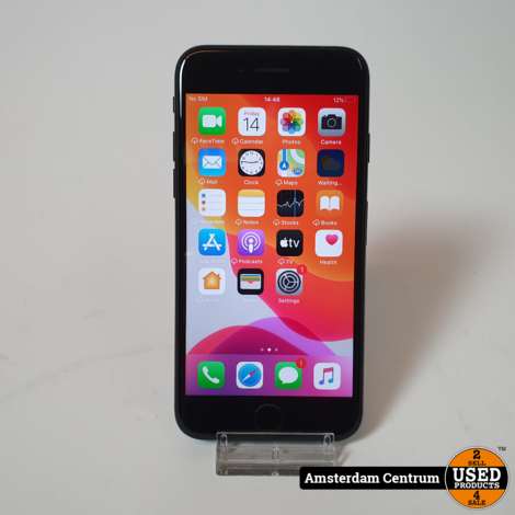 iPhone 7 128GB Jet Black   Incl. garantie