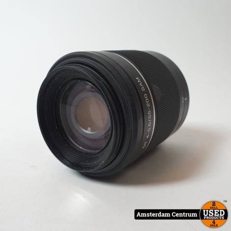 Sony 55-200mm F/4-5.6 SAM objectief | In nette staat