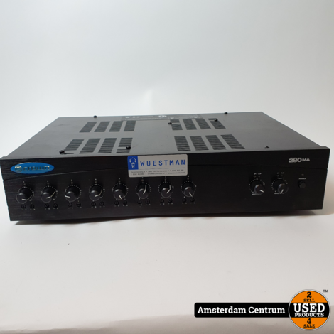 Adorama Crown Audio 280MA 8-Inputs and Dual 80W Power Mixer/Amplifiers | Nette Staat