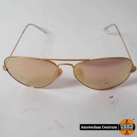 Ray-Ban Aviator Classic Metal RB3025-112/4T-58   Nette Staat in Hoes