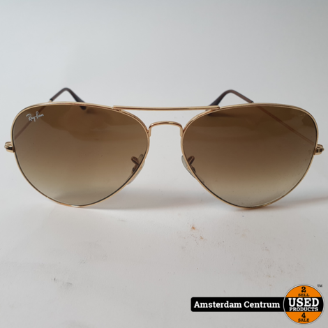 Ray-Ban Aviator Classic RB-3025 Zonnebril | Nette Staat
