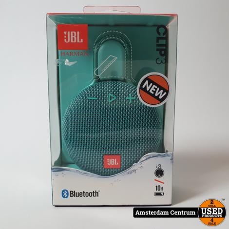 JBL Clip 3 Wireless Speaker   Green   Water Proof   Nieuw in Seal