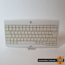 Wii Logitech keyboard wireless | Incl. garantie