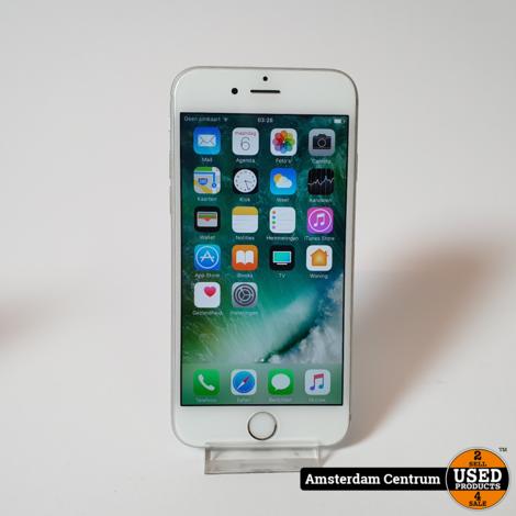 iPhone 6S 64GB Silver   Incl. garantie