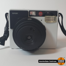 Leica Sofort Instantcamera - Wit | Nette Staat
