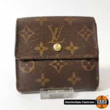 Louis Vuitton Louis Vuitton Monogram Elise Wallet Brown | In nette staat