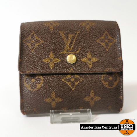 Louis Vuitton Monogram Elise Wallet Brown | In nette staat