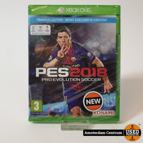 Xbox One Game : PES 2018 | Nieuw in seal
