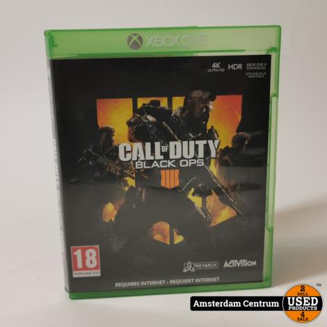 Xbox One Game : COD Black Ops 4