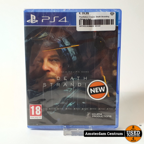 PlayStation 4 Game: Death Stranding | Nieuw in Seal