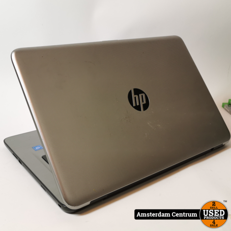 HP RTL87238E Laptop | 17 Inch Celeron 4GB 500GB HDD  | Incl. garantie