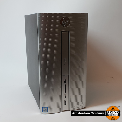 HP Pavilion 570-P040ND DT PC NL | 128GB + 1TB | Nette Staat