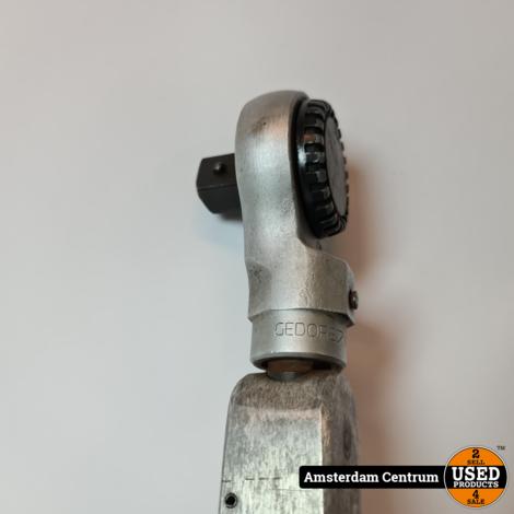 Gedore draaimomentsleutel Typ DZ 140-620 Nm incl. Gedore 8794-02