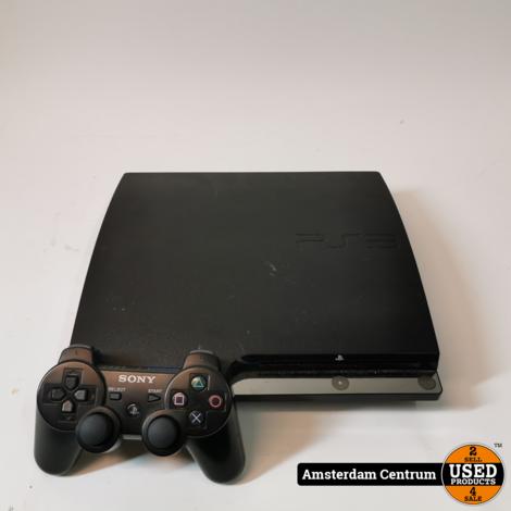Playstation 3 Slim 120GB Zwart/Black | Incl. controller en garantie