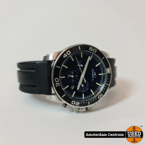 O'Neill Oslo Diver Chronograph Watch Black/dark navy | Zeer nette staat