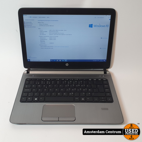 HP Probook 430 G2 | i5 4GB 128GB SSD | Qwerty Noorse Toetsen
