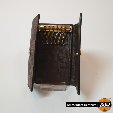 Louis Vuitton N62630 Damier Abene Canvas 6 Key Holder    Nette staat