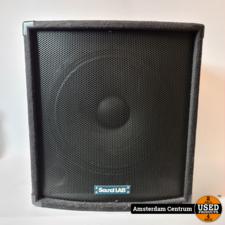 Soundlab 200WRMS P115E 15-inch Subwoofer | Incl. garantie