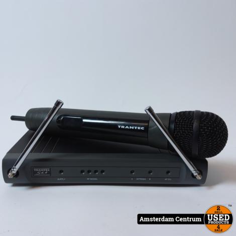 Trantec S4.4 Microfoon + Receiver Set   Incl. garantie