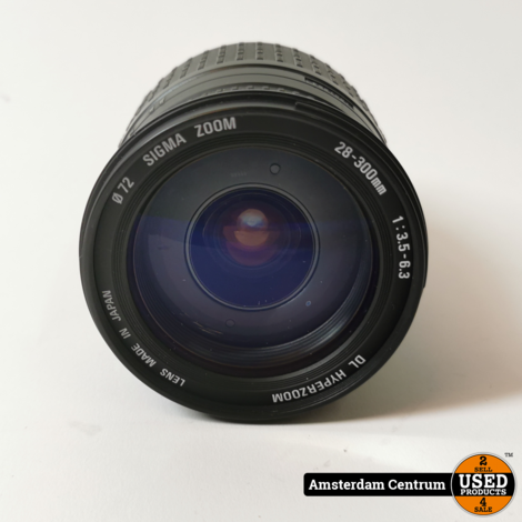 Sigma 28-30mm 1:3.5-6.3 DL Hyperzoom Objectief voor Canon | Nette staat