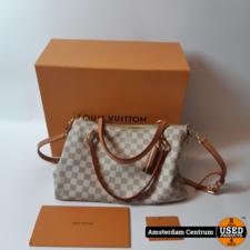 Louis Vuitton N40022 Lymington Azur Canvas Damestas | Compleet incl. bon