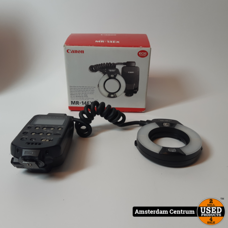 CANON MR-14EX Macro Ring Lite Flitser | Nette Staat in Doos